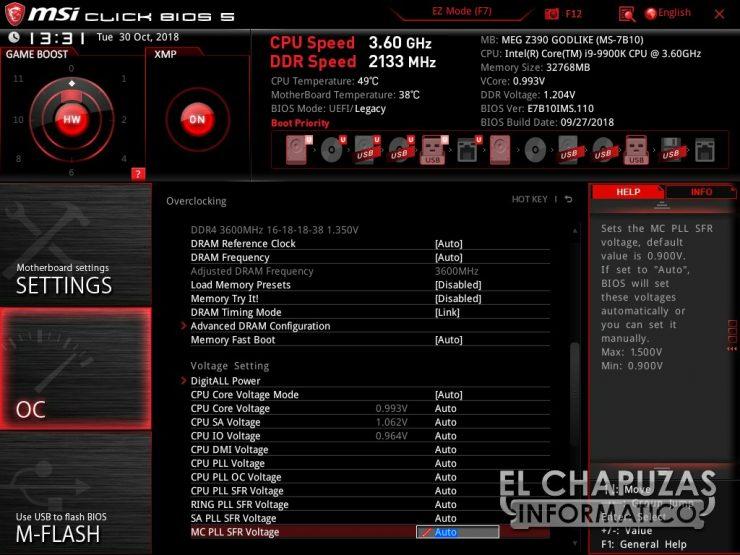 MSI MEG Z390 Godlike BIOS 04 740x555 50