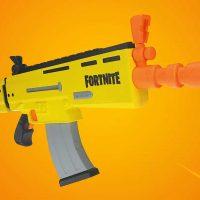 Nerf también fabricará rifles de juguete inspirados en Fortnite