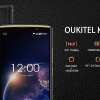 El Oukitel K7 Power (6″ con 10.000 mAh) sale en precompra por 87 euros