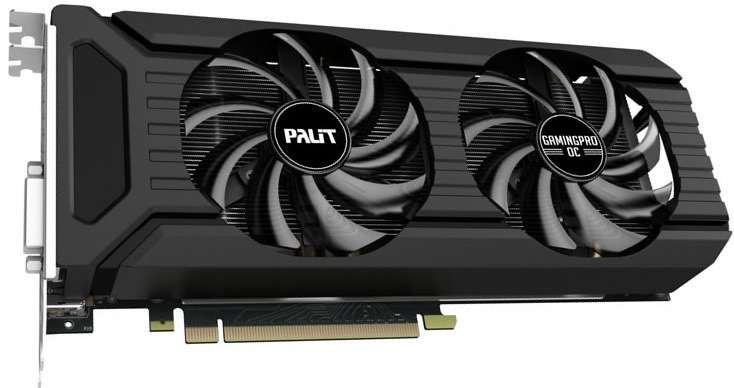 Palit GeForce GTX 1060 GamingPro OC 0