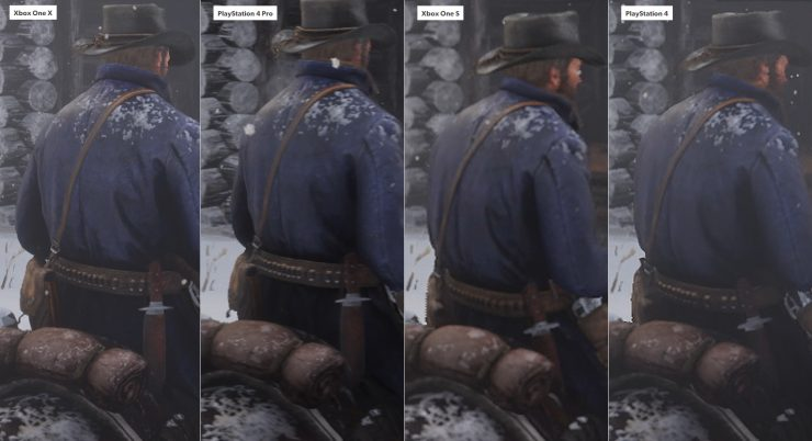 Red Dead Redemption 2 en Xbox One vs PlayStation 4 1 740x402 0