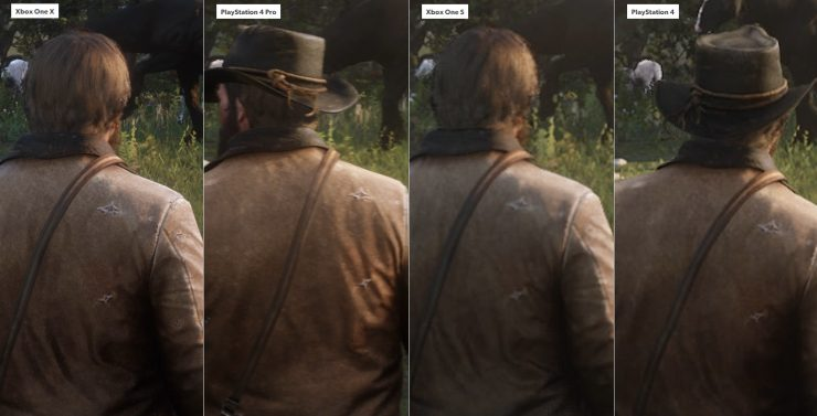 Red Dead Redemption 2 en Xbox One vs PlayStation 4 2 740x377 1