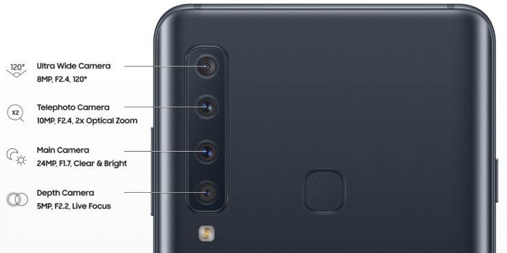 Samsung Galaxy A9 camara 740x370 0