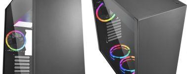 Sharkoon Pure Steel: Diseño minimalista, vidrio templado y RGB por 79.90 euros