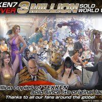 Tekken 7 supera las 3 millones de copias vendidas tras 7 meses a la venta