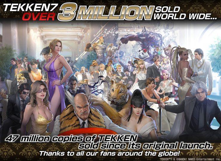 Tekken 7 3 millones de copias 740x537 0