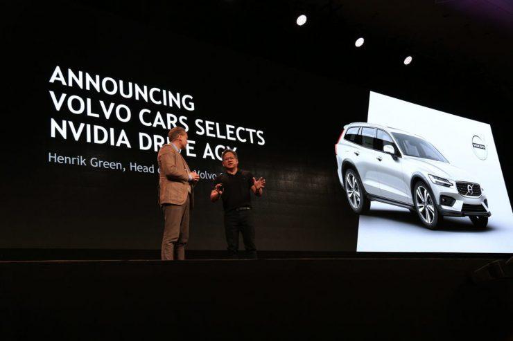 Volvo y Nvidia Drive AGX 740x493 0