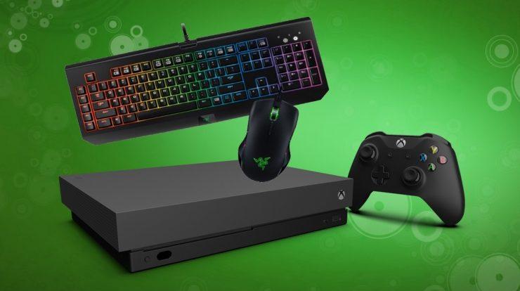 Xbox One con ratón y teclado 740x414 0