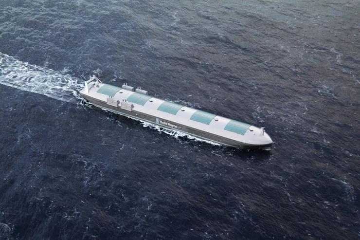 intel rolls royce barco autónomo 740x493 0