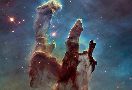 nebulosa pilares de la creacion 1