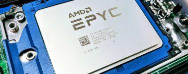 Un AMD EPYC ROME de 32 núcleos @ 2.40 GHz se pasea por SiSoftware