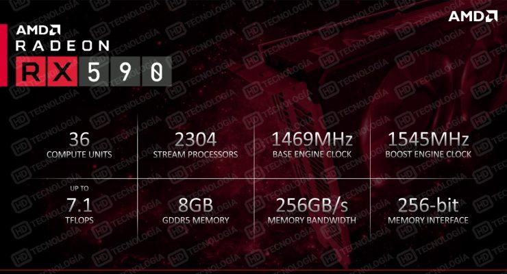 AMD Radeon RX 590 presentacion diapositiva 1 740x400 0