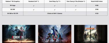 AMD también regala juegos con la Radeon RX 580 y Radeon RX 570