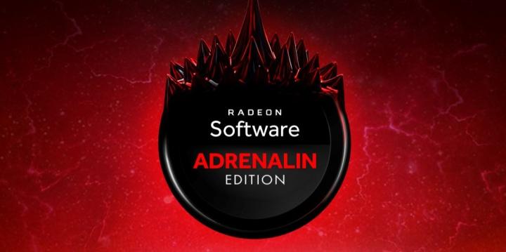 Logo controladores gráficos Radeon Software Adrenalin Edition