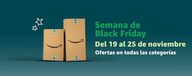 Amazon da inicio al Black Friday con miles de productos rebajados