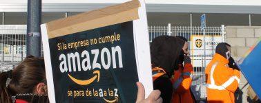 Los trabajadores de Amazon irán a huelga durante el Black Friday