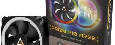 Antec lanza sus ventiladores para chasis PRIZM ARGB
