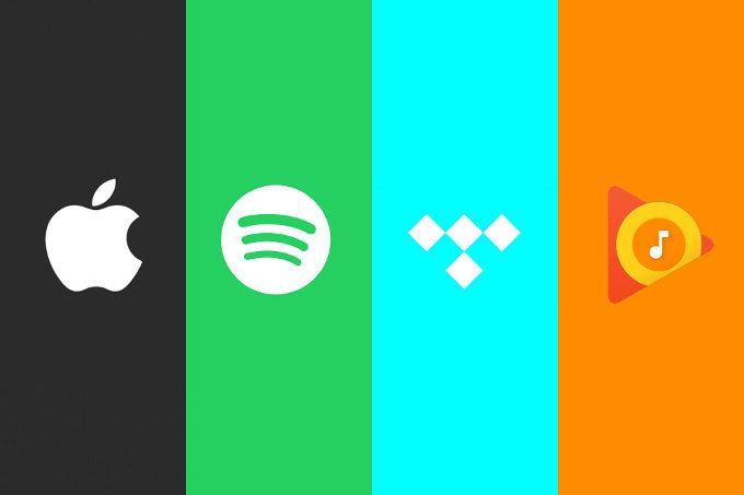Apple Music vs Spotify vs Tidal vs Google Music 0