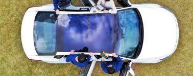 Hyundai y Kia montarán paneles solares en sus vehículos