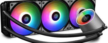 DeepCool GamerStorm Castle 360 RGB, líquida de alto rendimiento