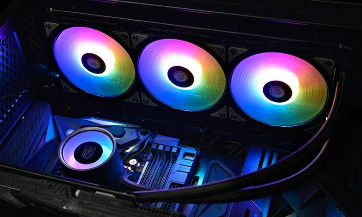 DeepCool GamerStorm Castle 360 RGB 2 740x444 1