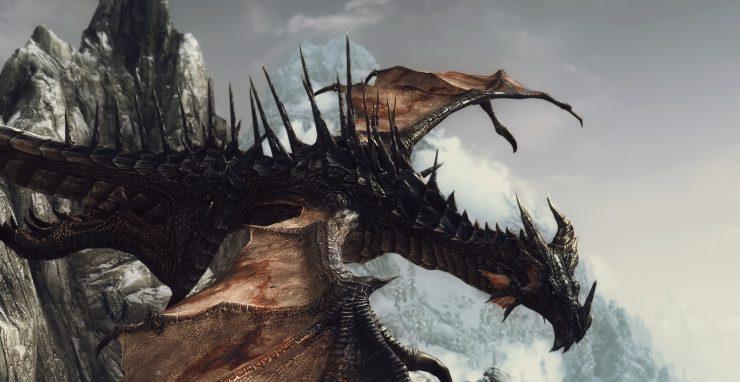 Dragon Skyrim 740x382 2