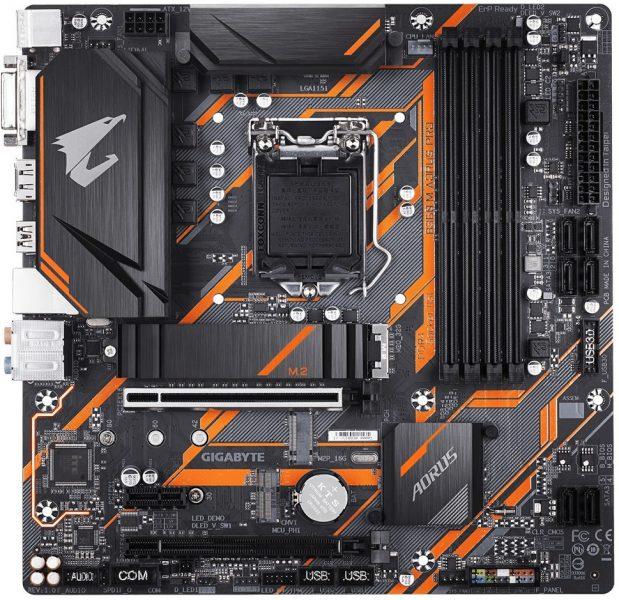Gigabyte B360M Aorus Pro 1 619x600 0