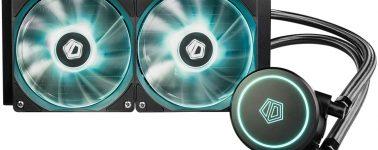 ID-Cooling Auraflow X 240: Líquida con bomba de agua de alto rendimiento