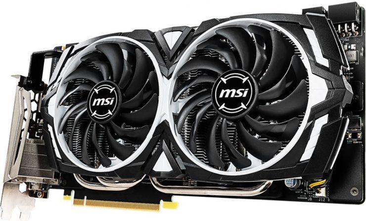 MSI GeForce GTX 1060 6GB GDDR5X Armor OC 2 740x447 0