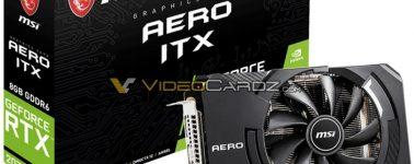 MSI GeForce RTX 2070 AERO ITX filtrada, gran potencia y tamaño mini
