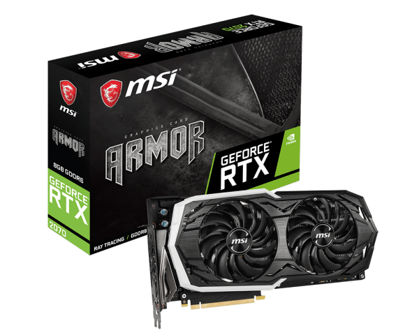 MSI GeForce RTX 2070 Armor Oficial 1
