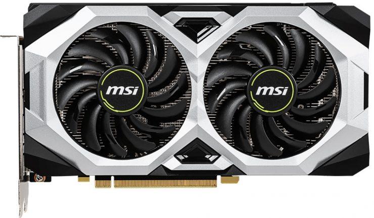 Tarjeta gráfica MSI GeForce RTX 2070 Ventus