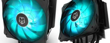 Nox Hummer H-214RGB: Disipador negro mate con iluminación RGB