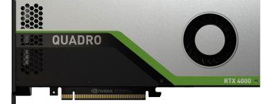 Nvidia Quadro RTX 4000, la gama de entrada para el sector profesional