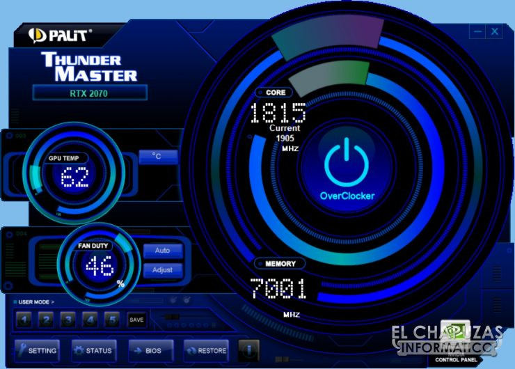 Palit GeForce RTX 2070 GameRock Premium 22 740x530 66