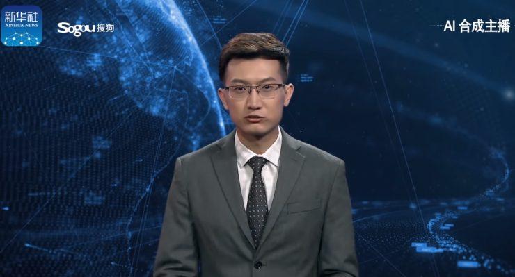 Presentador chino con Inteligencia Artificial 740x399 0