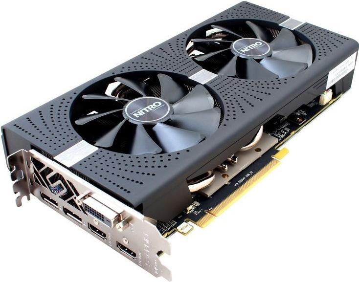 Sapphire Radeon RX 580 NITRO OC 1