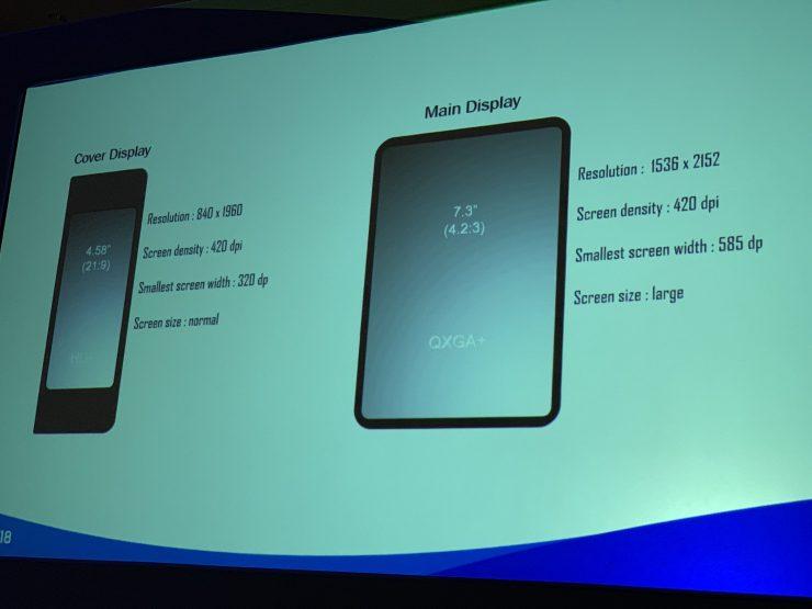 Smartphone plegable de Samsung 740x555 0