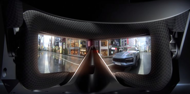 Lentes de las Gafas de Realidad Virtual StarVR One