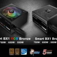 Thermaltake lanza sus fuentes de alimentación Smart BX1 RGB y Smart BX1