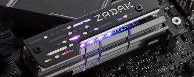 ZADAK MOAB: Disipador para SSDs M.2 con iluminación RGB