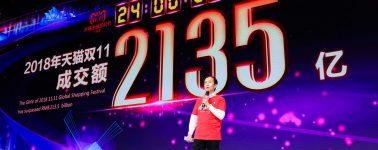 Alibaba bate récords: consigue 30.000 millones de dólares en el Día del Soltero