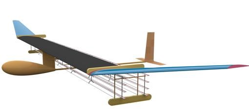avión iónico mit 3 0