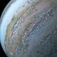 La sonda Juno manda las últimas imágenes capturadas de Júpiter