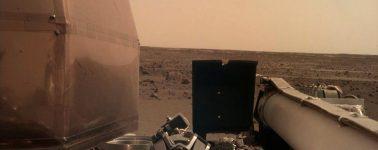 La nave InSight de la NASA muestra su primera fotografía clara de Marte