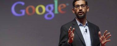 Sundar Pichai, el CEO de Google, testificará por primera vez ante el Congreso de EE.UU.