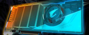 Aorus GeForce RTX 2080 Ti Turbo, diseño blower pero con radiador de cobre