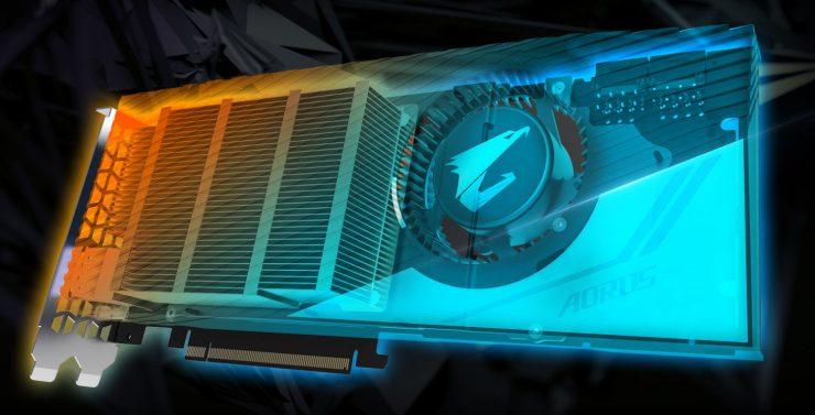 Disipador Aorus GeForce RTX 2080 Ti Turbo