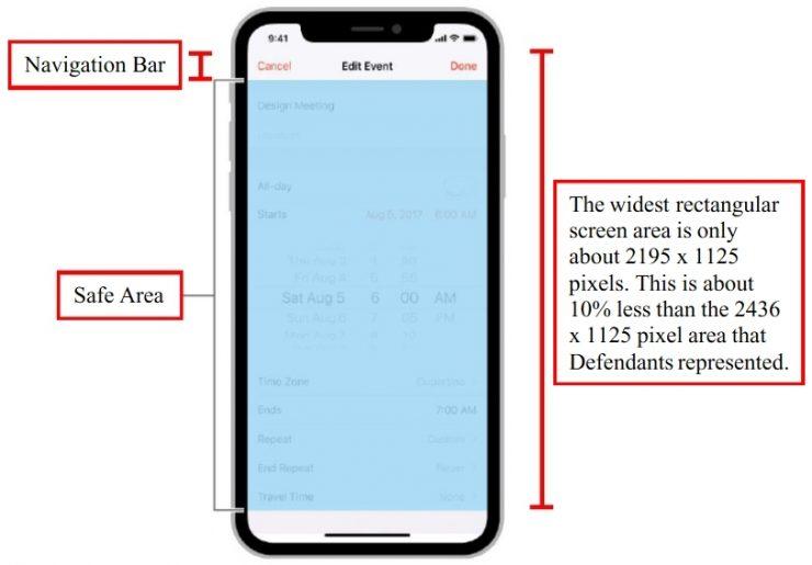 Apple iPhone X demanda especificaciones falsas 2 740x515 1