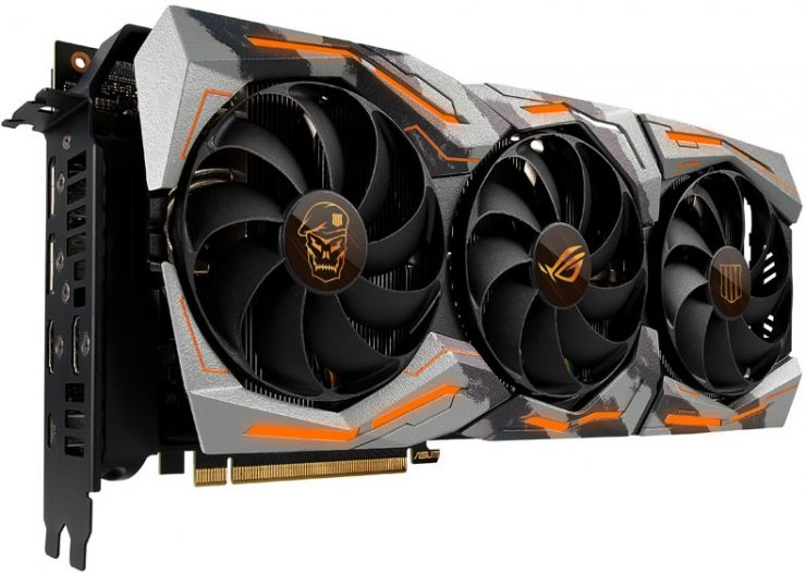 Gráfica Asus GeForce RTX 2080 Ti ROG STRIX Black Ops 4 Edition
